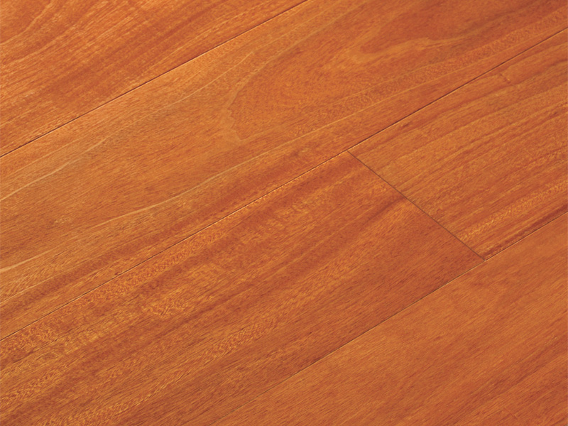 Santos mahogany exotic flooring coswick hardwood floors for Mahogany flooring