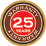 25 Year Finish Warranty